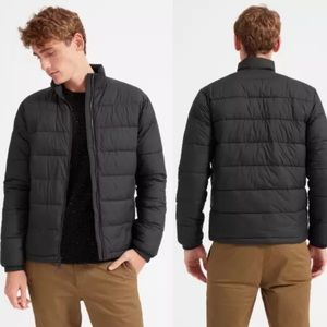 Everlane Men's Puffer Coat, Black